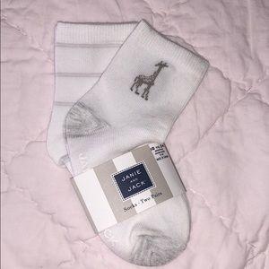 🆕 Janie and Jack 2 pair socks 18-24 mos